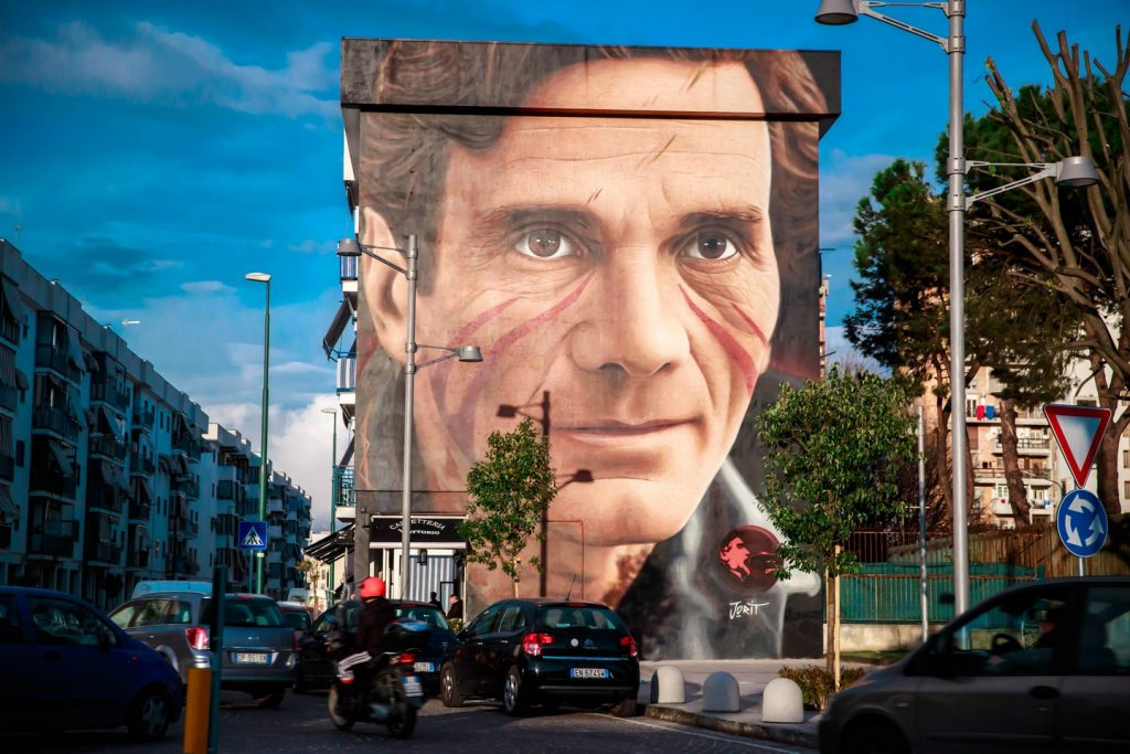 I messaggi nascosti nei murales di Jorit (Pier Paolo Pasolini)