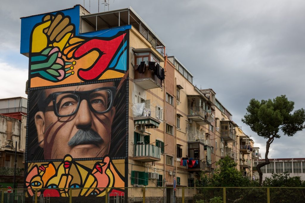 Murale di Salvador Allende - Barra